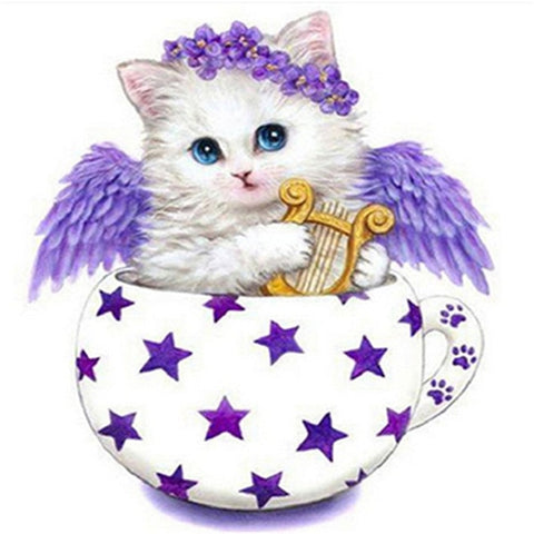 Cat Diamond Painting Kit