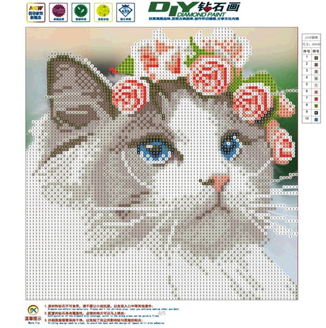Image of Cat Diamond Painting Kit