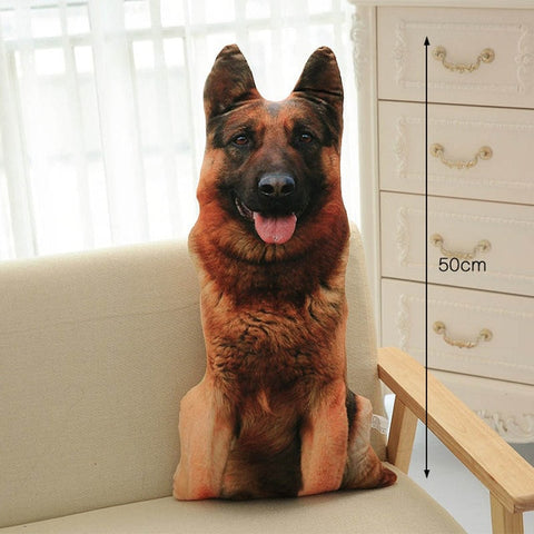 Dog Shaped 3-D Pillow