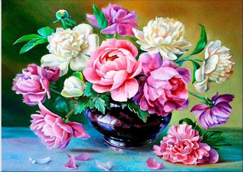 Blooming Flower Diamond Painting Kit