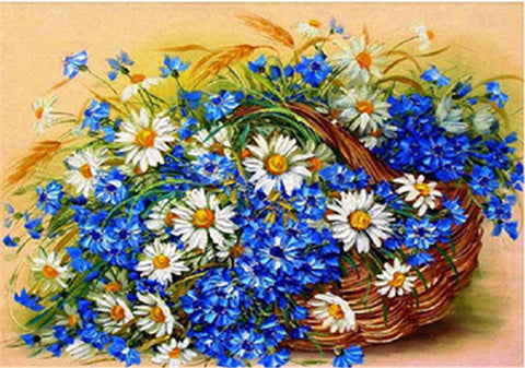Image of Blooming Flower Diamond Painting Kit