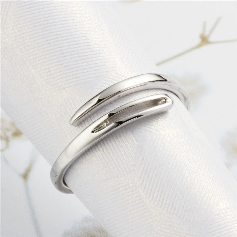 Silver Needle Ring