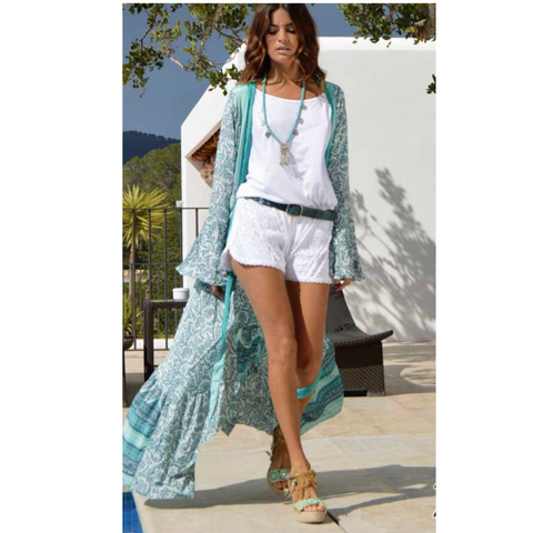 Modern Boho Chic style for spring fashion and summer fashion