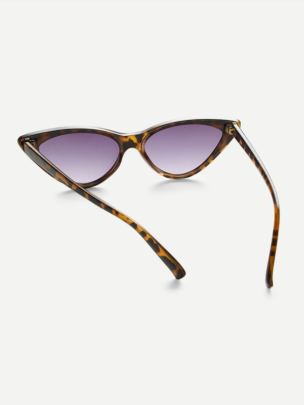 Leopard Frame Cat Eye Sunglasses - Open Your heart boutique