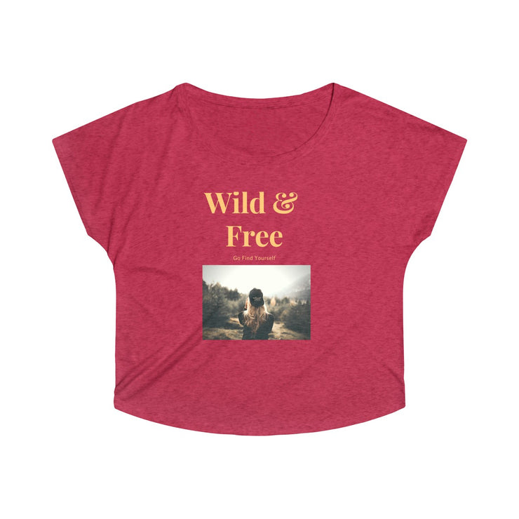 Wild & Free Super Soft Tee - Open Your heart boutique