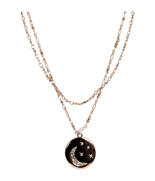 Laconic Style Layered Necklace J07 - 3 Color - Open Your heart boutique