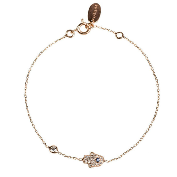 Hamsa Hand Bracelet - Open Your heart boutique