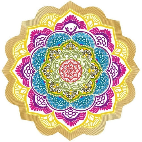 Beach Towel Tassel Yoga Mat - Open Your heart boutique
