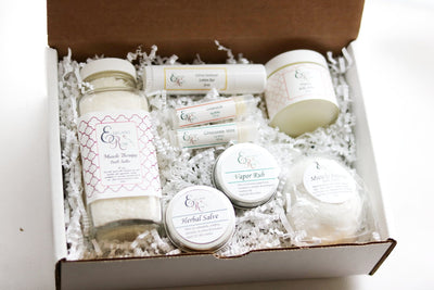 New Mom Gift Set - Baby Shower Gift, Gift for New - Open Your heart boutique