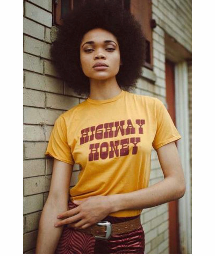 Highway Honey Tee - Open Your heart boutique