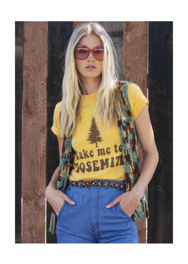 Take Me To Yosemite Tee - Open Your heart boutique