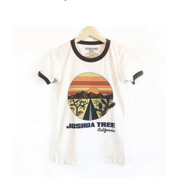 Joshua Tree Ringer - Open Your heart boutique