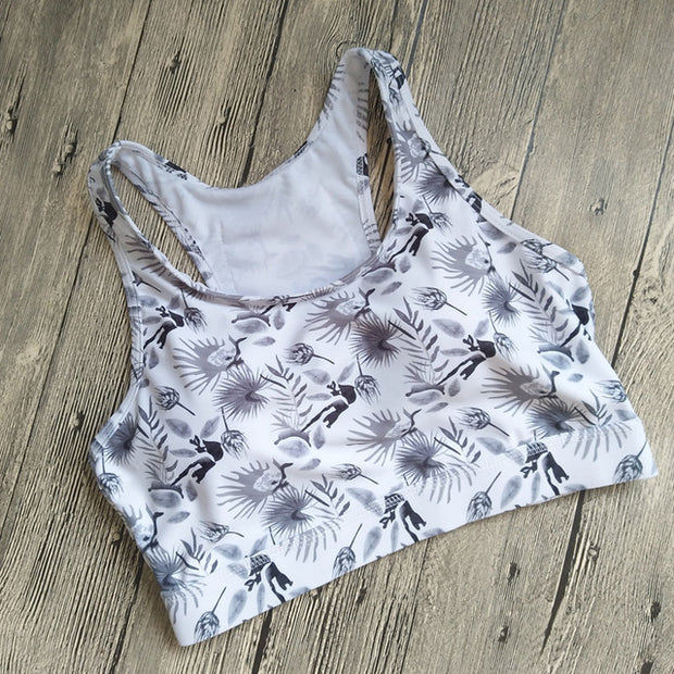 Sweet Pocket Sports Bra - Open Your heart boutique