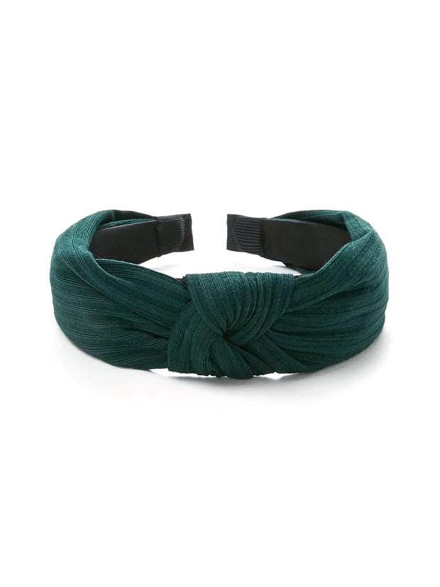 Knot Design Wide Headband - Open Your heart boutique