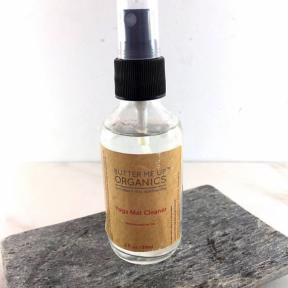 Yoga Mat Cleaner Organic - Open Your heart boutique