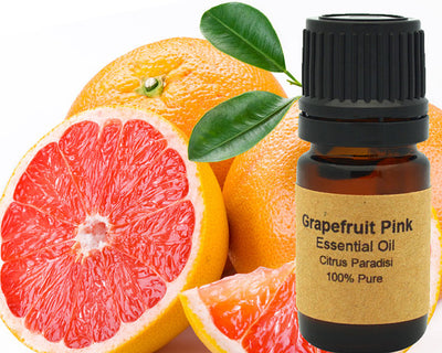 Grapefruit Essential Oil (Pink) 5ml, 10 ml or 15 - Open Your heart boutique