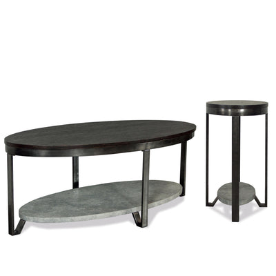 Jude Oval Chairside Table