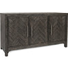 Gramercy 3 Door Accent Cabinet