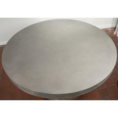 Sherborne Round Dining Table-Concret Top