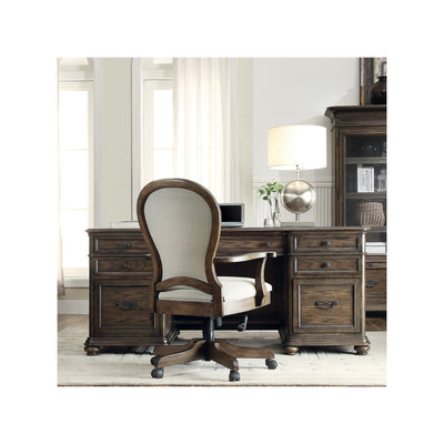 Belmeade Round Back Upholstered Desk Chair
