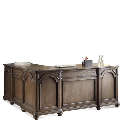 Belmeade L-Desk & Return