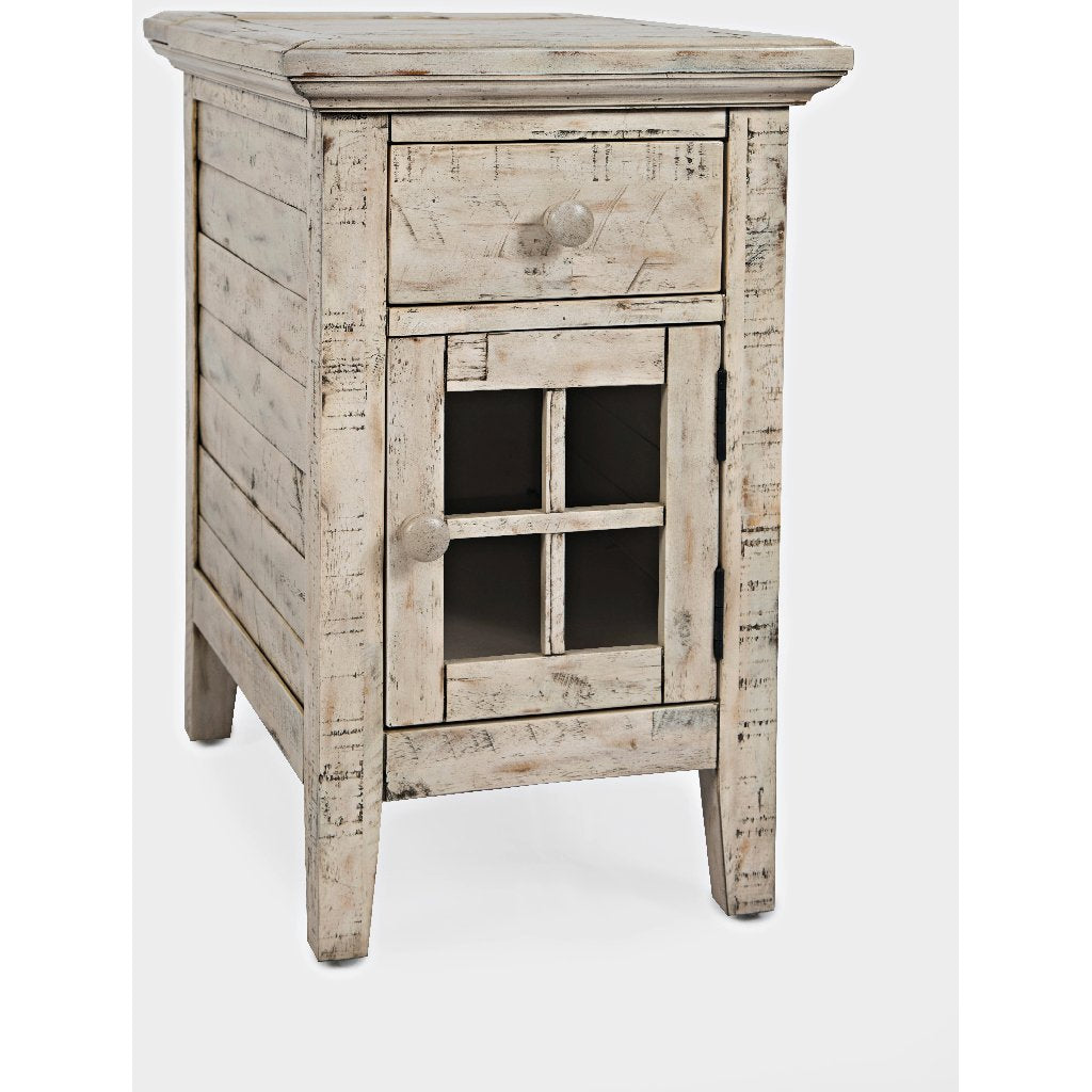 Rustic Shores Power Chairside Table