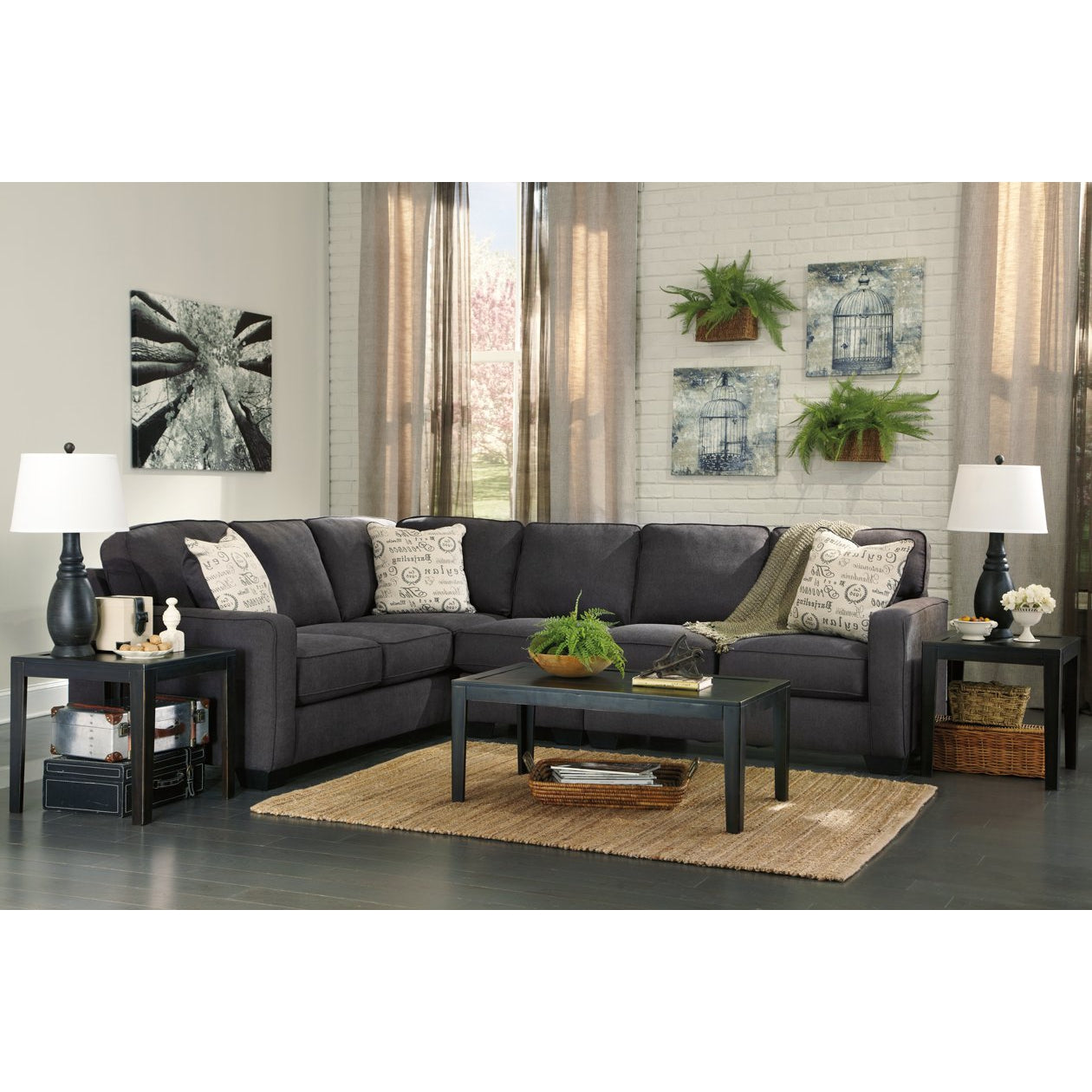 Bermuda Grey 3-Piece Sectional