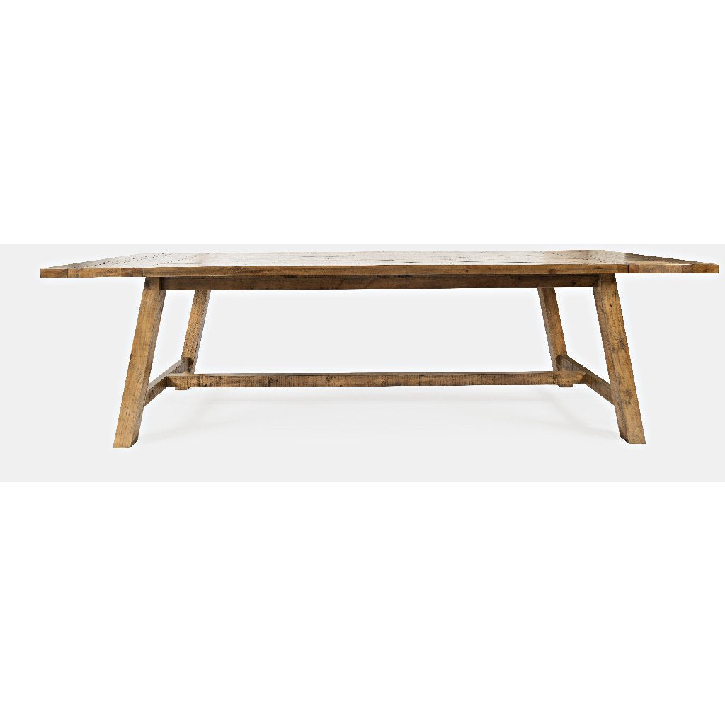 Telluride Trestle Counter Table with Two Leaves