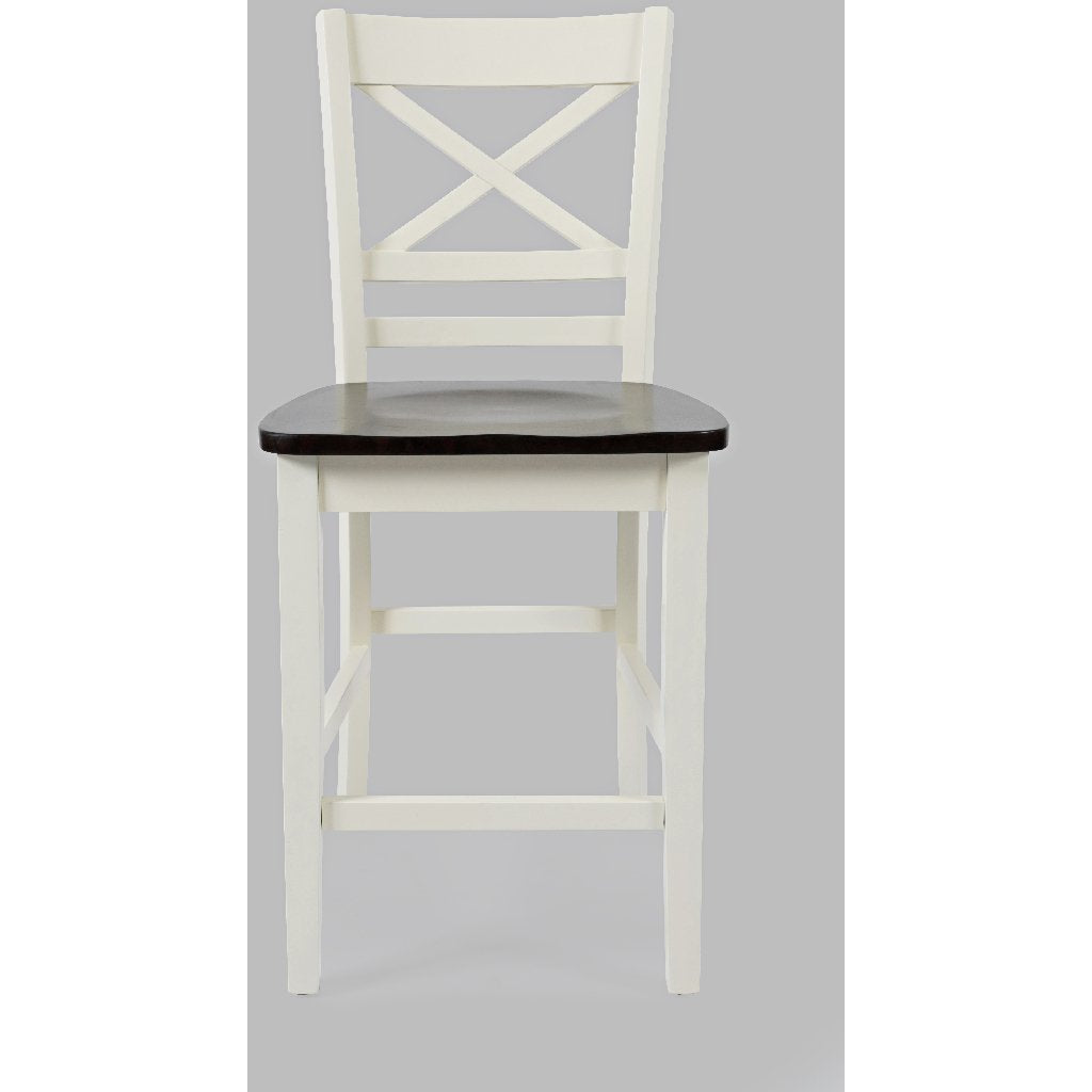 Asbury Park X Back Stool (Set of 2)