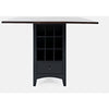 Asbury Park Storage Counter Drop Leaf Table