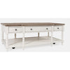 Grafton Farms 3 Drawer Coffee Table