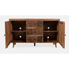 Kuta 3-Drawer 2-Door Accent Chest