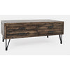 Blackstone Coffee Table with 2 Pull Through Drawers