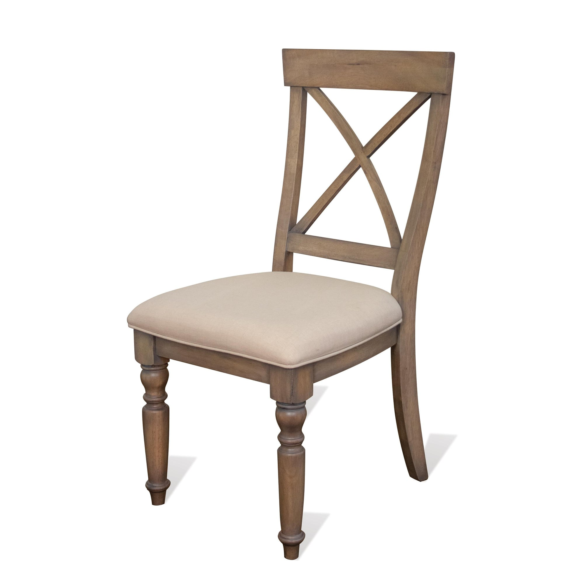 Aberdeen X-Back Upholstered Side Chair 2""
