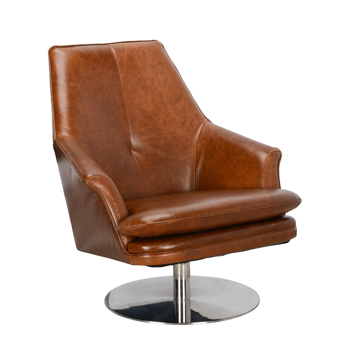 Irving Swivel Chair Tobacco