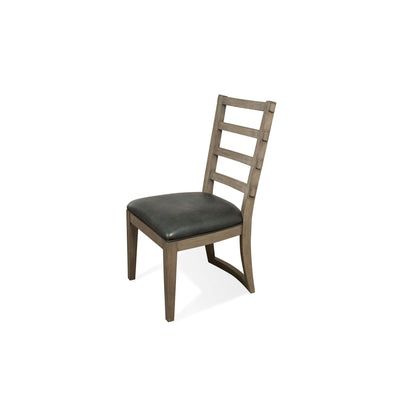 Precision Upholstered Ladderback Side Chair 2""