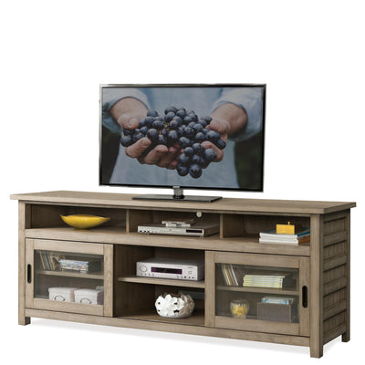 "Perspectives 74"" TV Console"