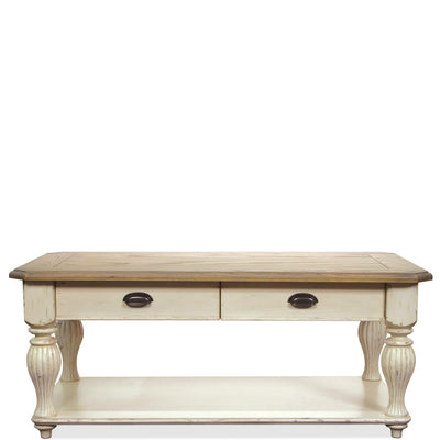Coventry Two-Tone Rectangular Cocktail Table