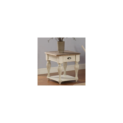 Coventry Two-Tone Rectangular End Table