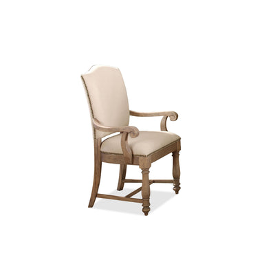 Coventry Two-Tone Upholstered Arm Chair 2""