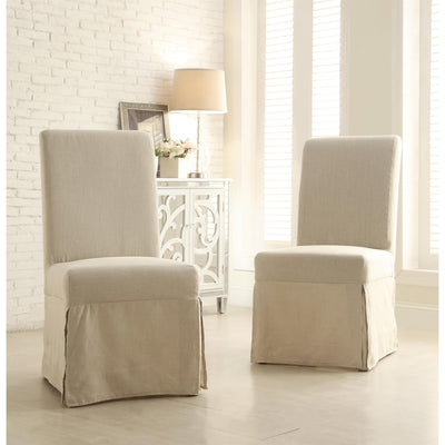 Mix-n-Match Chairs Parsn Chr Upholstered W/Cover Set of 2