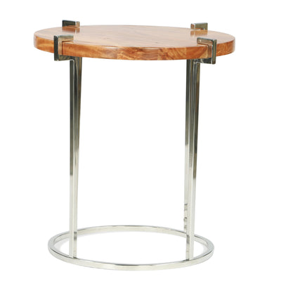 Forrester Round End Table