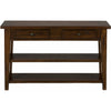Clay County Oak Sofa/Media Table