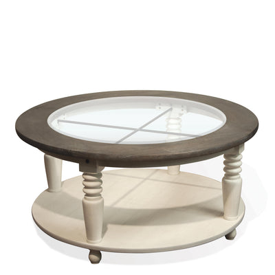 Juniper Round Cocktail Table