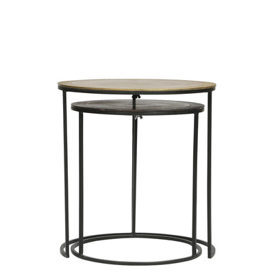 Yasmine 2-Piece Nesting End Table