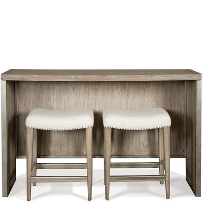 Sophie Sofa Table W/2 Upholstered Stools