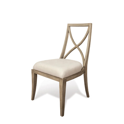 Sophie X-Back Upholstered Side Chair 2""