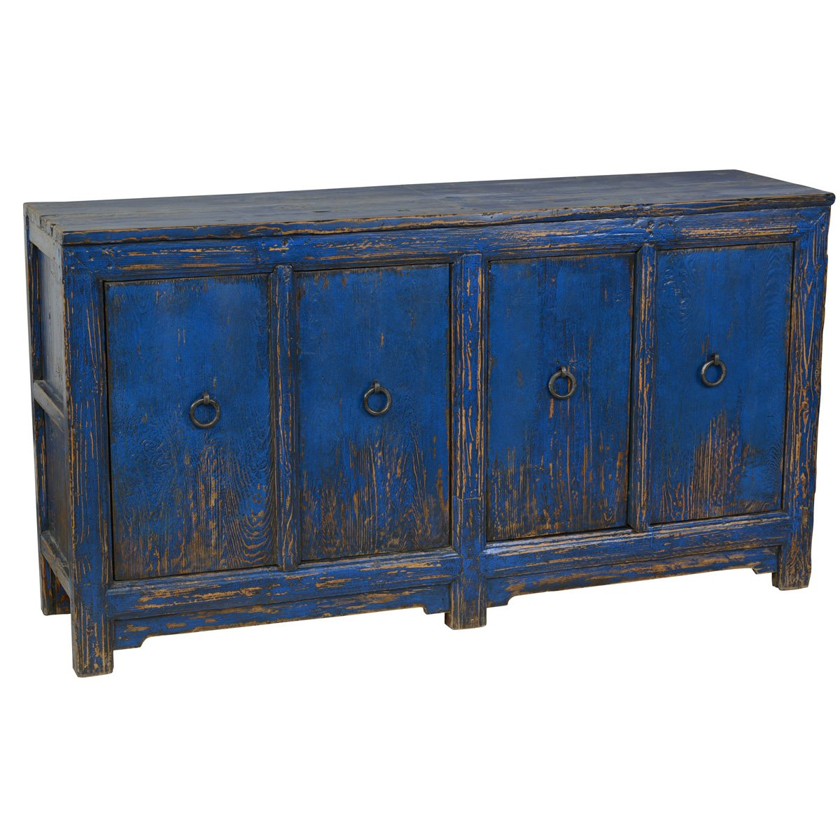 Amherst 4-Drawer Buffet Antique Blue