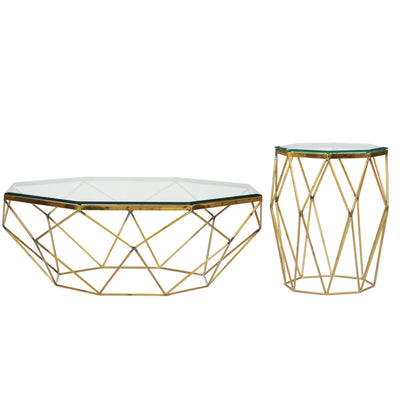 Lucentio Octagon End Table