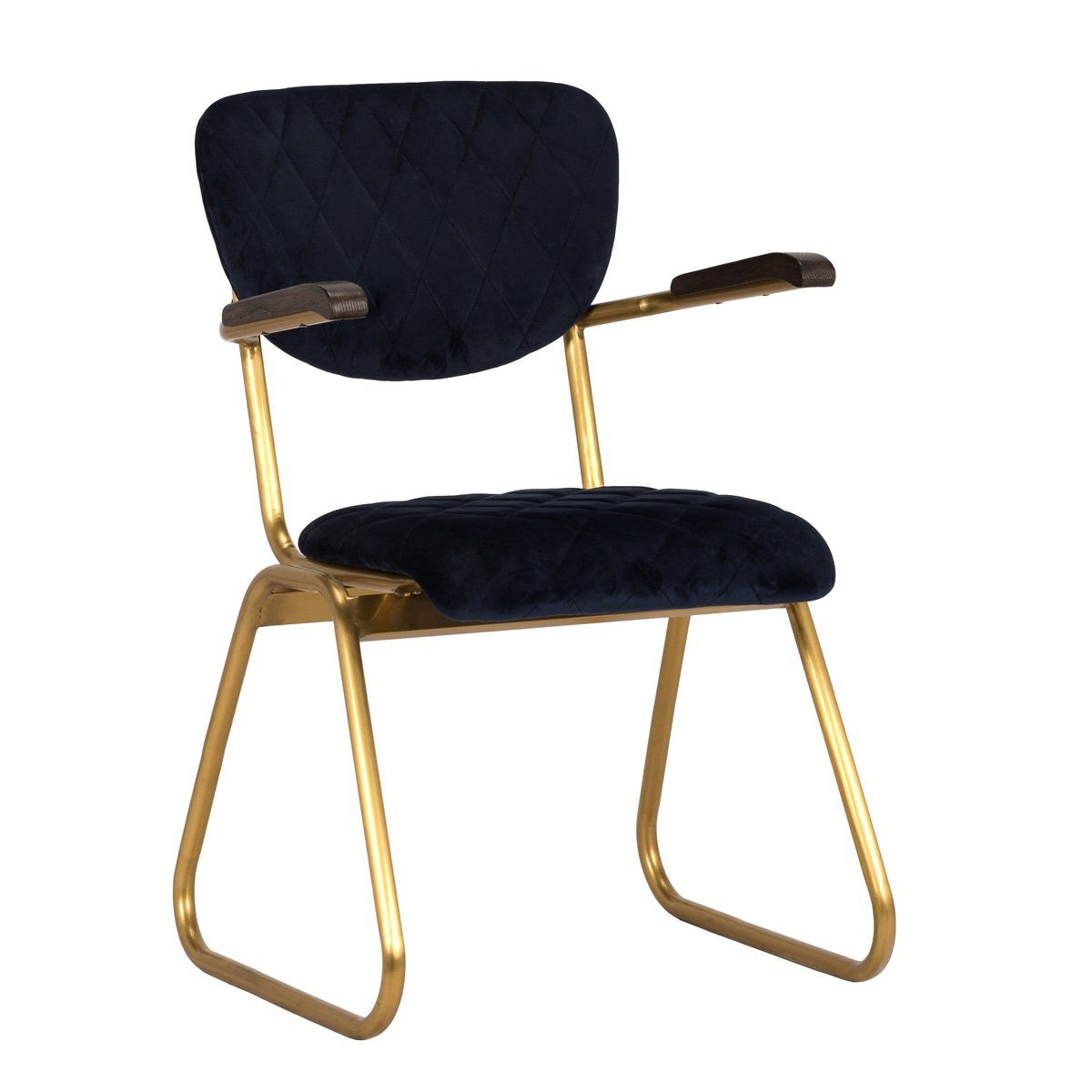 Elaine Arm Chair Navy